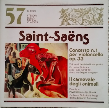 Concerto n. 1 in la min. per violoncello e orchestra op. 33
