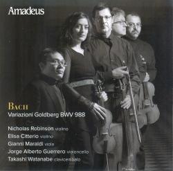 Variazioni Goldberg BWV 988 [Audioregistrazione]